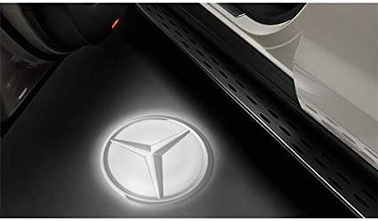 Mercedes-Benz - Proyector LED, estrella de Mercedes, 2 piezas ...