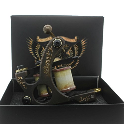 Thomas Coil Tattoo Machines Tattoo Guns Brass Frame for Tattoo Supply (Liner)