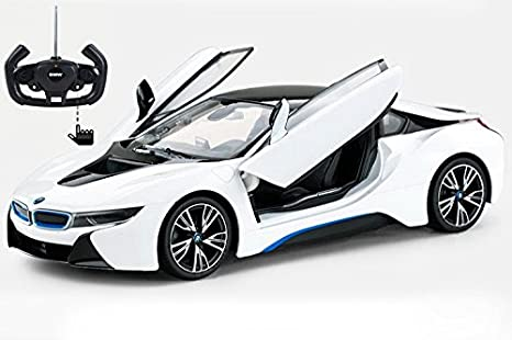 Amazon Com Radio Control 71010 1 14 Bmw I8 Car Toys Games