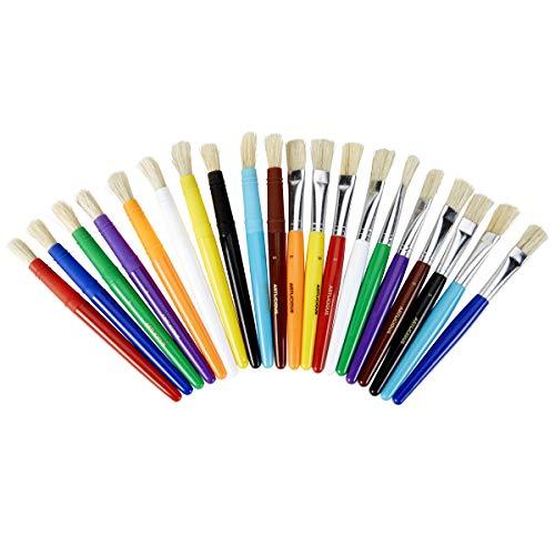 Chubby Brushes - Artlicious 20 Chubby Wubby Kids' Paint Brush Set