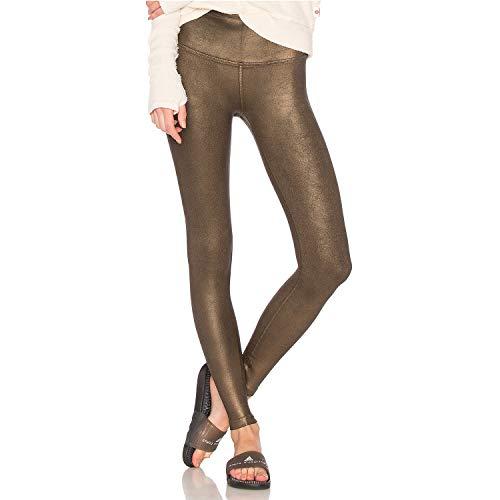 Vimmia Womens Coated High Waist Leggings Bronze Large