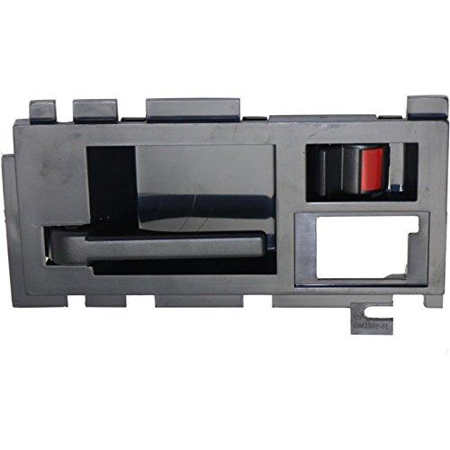 Evan-Fischer EVA187033116302 Interior Door Handle for S10 Blazer/Sonoma 91-94 Front LH Interior W/Black Lever Left Side