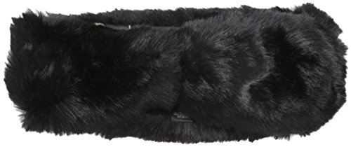 Ted Baker London Women's Willa Mini Bow Faux Fur Headband, Black, One Size
