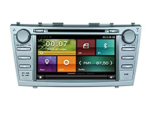 cartouch r in dash car dvd player gps navigation multimedia system for toyota camry. Black Bedroom Furniture Sets. Home Design Ideas