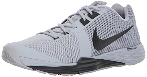 NIKE Men's Train Prime Iron DF Cross Training Shoe, Wolf Grey/Black White, 8 D(M) US
