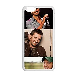 Amiable Guitar player Luke Bryan Cell Phone Case for Iphone 6 Plus