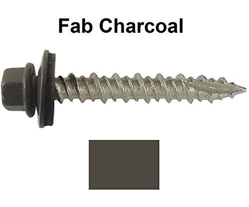 metal-roofing-screws-250-screws-x-1-fab-charcoal-hex-washer-head-sheet-metal-roof-screw-self-startin