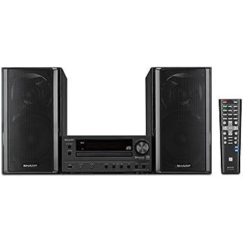 Amazon Com Sharp Xl Hf203b Hi Fi Component Stereo Speaker