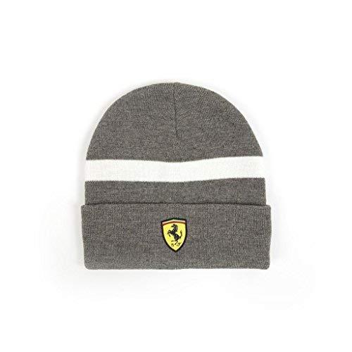 Ferrari Beanie - Scuderia Ferrari Formula 1 2018 Gray Knitted Beanie