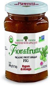 Rigoni Di Asiago Fiordifrutta Organic Fruit Spread, Fig, 9.17 Ounce