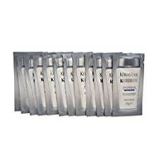 Kerastase Bain Gommage Anti-Dandruff Shampoo Dry Hair Travel Sachets 0.34 OZ x12