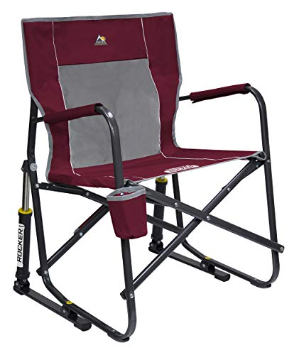 - GCI Outdoor Freestyle Rocker Portable Folding Rocking Chair, Cinnamon