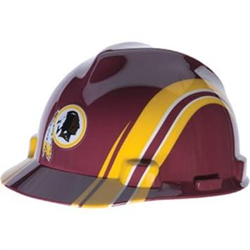 Amazon.com  MSA 10098029 Officially Licensed NFL® V-Gard® Hard Hat ... 91018f4939e1