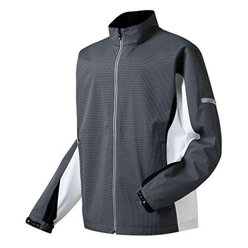 FootJoy HydroLite Rain Golf Jacket 2016 White/Black Large by FootJoy