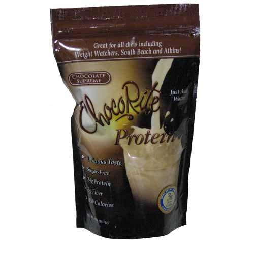 Healthsmart Foods ChocoRite Protein Shake Mix Chocolate S...