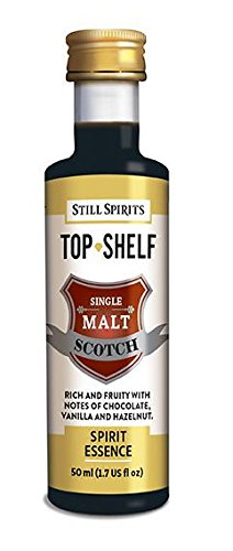 (Still Spirits Top Shelf Single Malt Scotch 50ml Essence Flavours 2.25L)