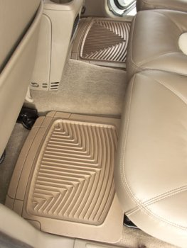 WeatherTech - W25 - 1985-2005 GMC Safari Black All Weather Floor Mats 2nd Row (Weathertech Navigator 2005 Lincoln)
