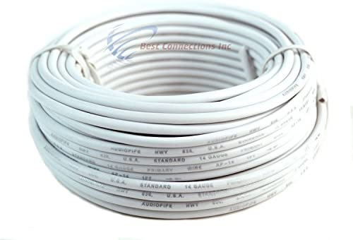 14 Gauge 50'FT Remote Wire Copper Clad Single Conductor 6 Primary Colors
