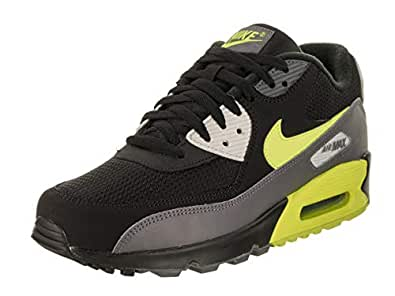super popular e73b2 64199 Image Unavailable. Image not available for. Color  Nike Mens Air Max 90  Essential Running Shoes Dark ...