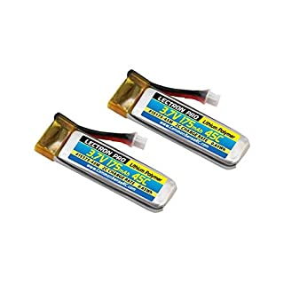Common Sense RC Lectron Pro 3.7V 175mAh 45C Lithium Polymer Battery for Blade 70S, 2-Pack
