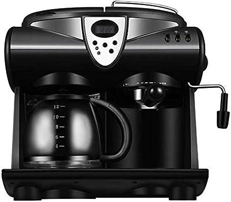 AMAZACER Cafetera con Leche vaporizador, 2-Way Máquina de café for ...