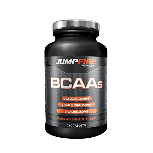 Jumpfire Nutrition BCAA Tablets - 1200mg BCAAs are suitable for Men and...