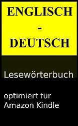 Englisch - Deutsch Lesewörterbuch (Lesewörterbücher 1)