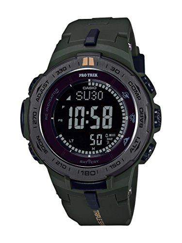 Casio Men's 'Pro Trek' PRW-3100Y-3CR Touch Solar Quartz Resin Casual Watch