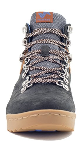 Forsake Patch - Women's Waterproof Premium Leather Hiking Boot (7, Black/Tan) by Forsake (Image #3)