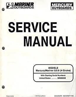 1997 mercury outboard manual browse manual guides u2022 rh repairmanualtech today 1990 Mariner 9.9 HP Outboard 1975 9.9 Mariner Outboard