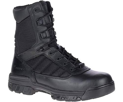 Bates Men's Ultra-Lites 8 Inches Tactical Sport Side Zip Work Boot,Black,12 M US