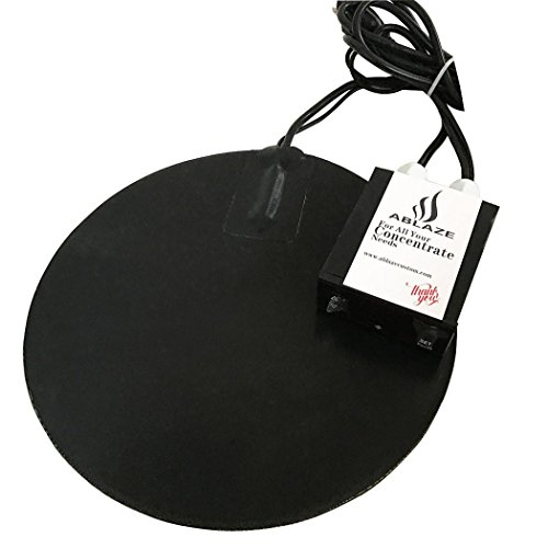 (ABLAZE 8 Inch Vacuum Chamber Heat Pad for Stainless Steel Glass Aluminum Chamber)