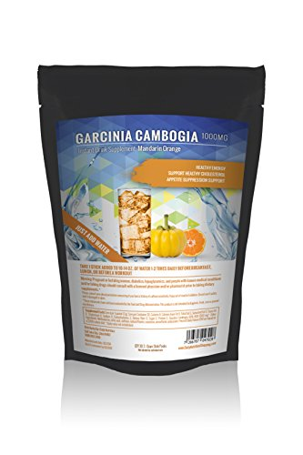 Garcinia Cambogia Instant Drink Supplement: 60 Stick Packs | Creamsicle Flavor