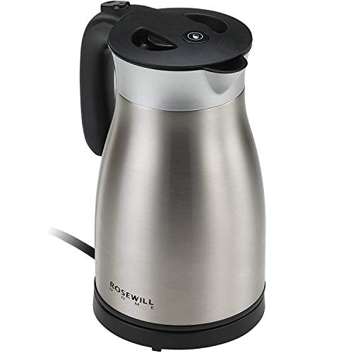 Rosewill Kettle Steel Insulated, Pot, 1.7 1500W ,
