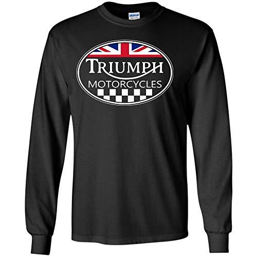 Teesmomo Triumph Motorcycles t-Shirt (Long Sleeve ()