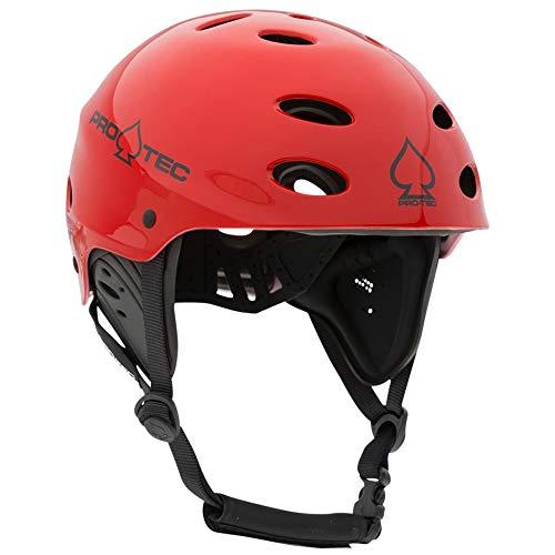 Pro-Tec Ace Wake Helmet, Gloss Red, L (Riot Ski)