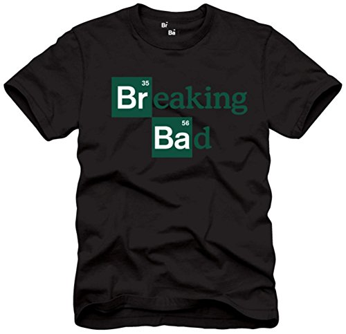 Breaking Bad Men's Logo T-Shirt, Black, Small