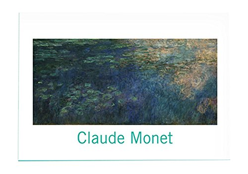 Museum Art Images Blank Greeting Note Cards CLAUDE MONET, Museum of Modern Art MoMA