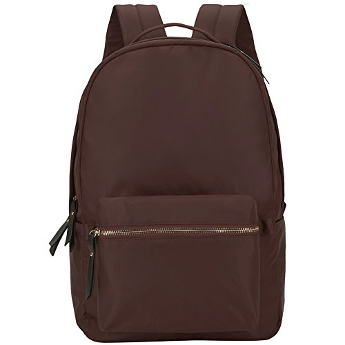 41af488f5fc8 HawLander Backpack Casual Daypack for Women School Bag for Girls -  Lightweight (Coffee)