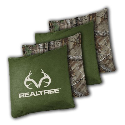 Wild Sports Bean Bag (4 Pack), Green Realtree, X-Large