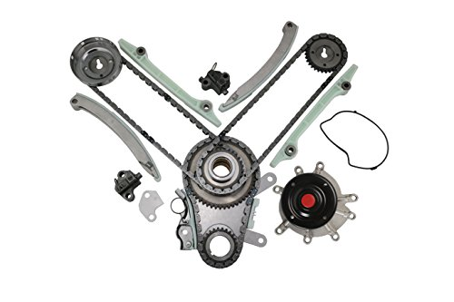 MOCA Timing Chain Kit Water Pump for 03-08 Dodge Durango & Dakota & Ram 1500, Jeep Commander & Grand Cherokee, Mitsubishi Raider 4.7L V8