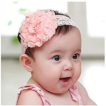 5bd0e783663 3 Colors Cute Infant Baby Girls Sweet Rose Flowers Decor Elastic Headband  Hair Band Hair Accessories