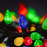 Twinkle Star C6 Christmas String Lights, 100 LED