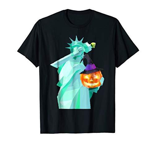 Dabbing Statue of Liberty halloween costume t-shirt women