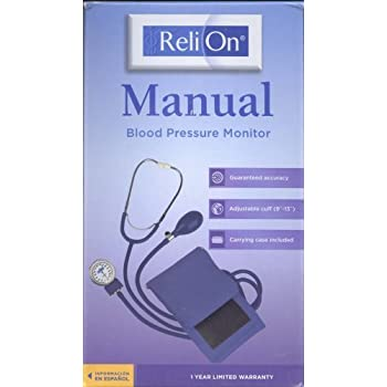 Reli On Manual Blood Pressure Monitor