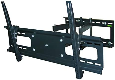 Monoprice Full-Motion Articulating TV Wall Mount Bracket – for TVs 37in to 70in Max Weight 132 lbs Extension Range of 3.7in to 18.7in VESA Patterns Up to 800×400 Works with Concrete Brick