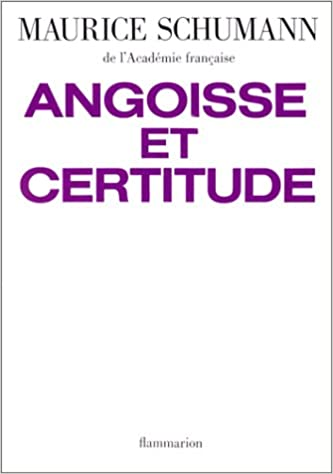 Livre gratuits Angoisse et certitude de la mort, de la vie, de la liberté pdf ebook