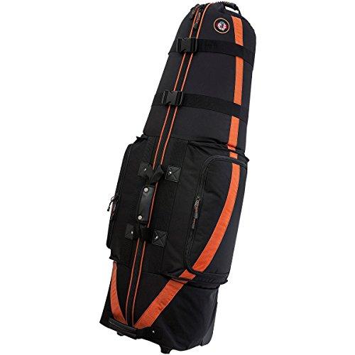 Medallion Travel Bag (GOLF TRAVEL BAGS MEDALLION 6.0 BLACK/ORANGE TRIM)
