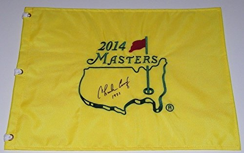 Charles Coody Signed Autographed Auto Masters Pin Flag w/1971 - Augusta National ()