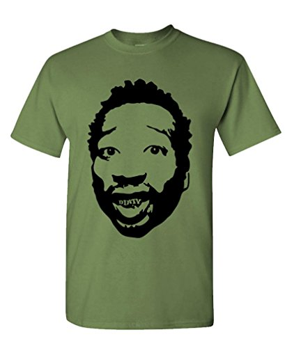 Dirty - ODB wu Tang Clan Hip hop Rap mcgirt Tee Shirt T-Shirt, XL, Military